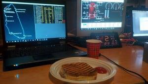 Bon appetit, breakfast of champions
