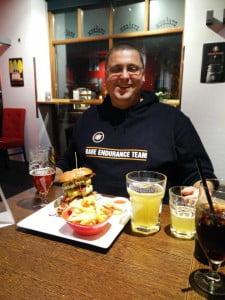 Hamburger of champions